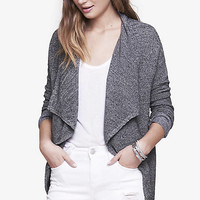 Marled Ribbed Cascading Cover-up from EXPRESS
