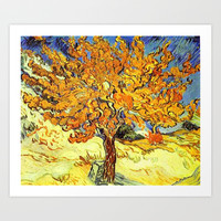 The Mulberry Tree, Vincent van Gogh Art Print by ArtsCollection