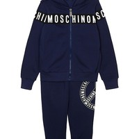 MOSCHINO - Logo cotton tracksuit 4-14 years | Selfridges.com