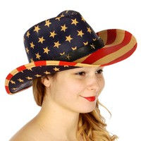 American Stars & Stripes Cowboy Hat