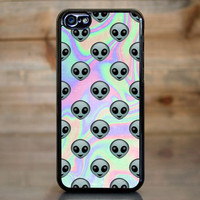 Tie Dye Alien Emoji Case for Apple iPhone 5c
