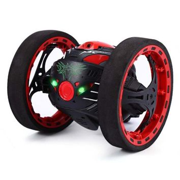 MUQGEW 2017 New Hot Sale 2.4GHz Wireless Remote Control Jumping RC Toy Bounce Cars Robot Toys Flexible Wheels Rotation Kids Gift