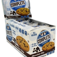 The Complete Cookie - Chocolate Chip - 4 oz - Case of 12