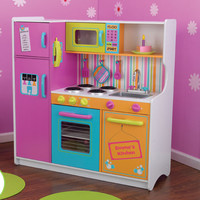 KidKraft Personalized Deluxe Big & Bright Play Kitchen