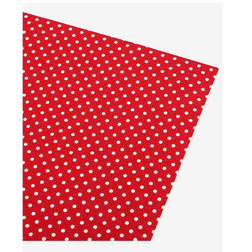 Deco fabric sticker 1 sheet A4 size - Vivid dot