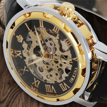 MG ORKINA Mechanical Watch Skeleton ⌚️