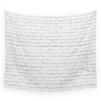 Society6 Brick Wall Wall Tapestry