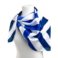Vince Camuto Silk Chevron Scarf at HSN.com