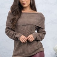 Joy Sweater - Heather Khaki