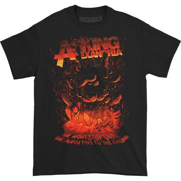Asking Alexandria Men's  Metal Hand T-shirt Black