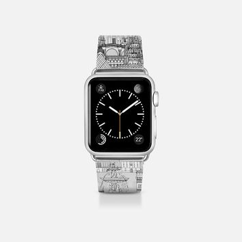 Paris toile transparent apple watch band Apple Watch Band (38mm)  by Sharon Turner | Casetify