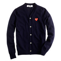 J.Crew Mens Play Comme Des Garcons Cardigan Sweater