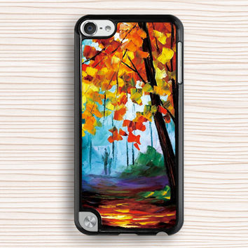 tree painting ipod case,vivid painting ipod 4 case,beautiful ipod 5 case,fashion ipod touch 4 case,vivid ipod touch 5 cover