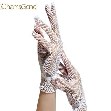 Fishnet Mesh Gloves