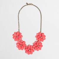 Factory crystal floral burst necklace - Necklaces - FactoryWomen's Jewelry - J.Crew Factory