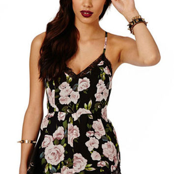 Maya Wall Of Roses Romper