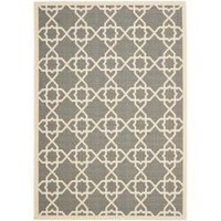 Poolside Grey/ Beige Indoor Outdoor Rug (5'3 x 7'7) | Overstock.com
