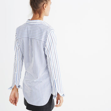 Classic Ex-Boyfriend Shirt in Stripe-Mix : | Madewell
