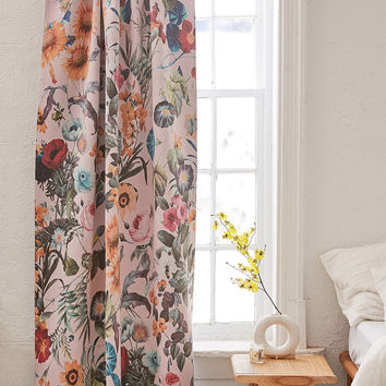 Burcu Korkmazyurek For Deny Exotic Garden Blackout Window Panel | Urban Outfitters