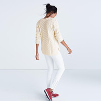 Classic Cable Pullover Sweater : shopmadewell pullovers   Madewell