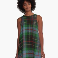 'BRODIE HUNTING TARTAN 2' A-Line Dress by IMPACTEES