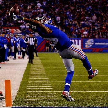 NOVO5 Odell Beckham Jr Close Up One-Handed Catch 16x20 Photo PF nbrAARM187