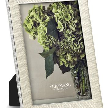 Vera Wang x Wedgwood With Love Nouveau Pearl Picture Frame | Nordstrom