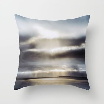 Welcome Throw Pillow by HappyMelvin | Society6