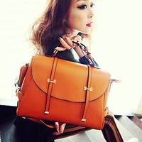 Double Arrows Retro Crossbody Bag #0028