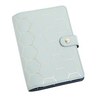 LEATHER PERSONAL PLANNER MEDIUM: DARK MINT - Shop By
