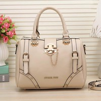 MK Michael Kors Women Leather Shoulder Bag Satchel Tote Travel Bag Handbag G-LLBPFSH
