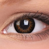 Sweet Honey Bigger Eyes Colour Contact Lenses, Sweet Honey Bigger Eyes Contacts | EyesBright.com