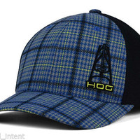 Hooey HOG The Rio Flex Fit Plaid Hat - 3005NVPD (Small/Medium)