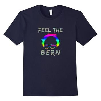 Feel the Bern T-shirt - Bernie Sanders Holographic