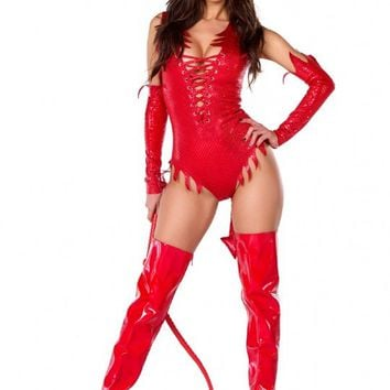 Sizzle N Shine Sexy Devil Costume