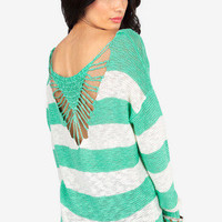 Caught In Action Sweater $33