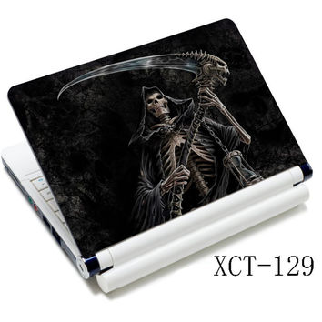 "Sickle Skulls 12"" 13"" 13.3"" 14"" 15"" 15.6"" Laptop Protective Skin Sticker Cover Decal"