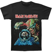 Iron Maiden Men's  Final Frontier Album T-shirt Black Rockabilia