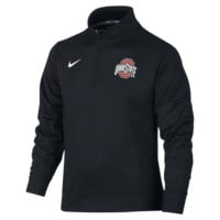 Nike Dri-FIT Performance Quarter-Zip (Ohio State) Boys' Top