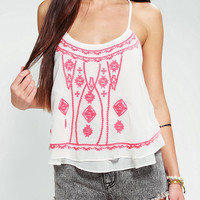 Ecote Embroidered Bazaar Cami