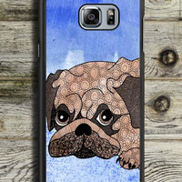 Painting Pug Samsung Galaxy Note 5 Case