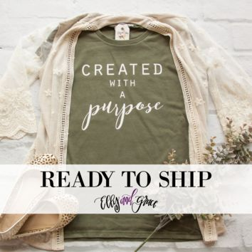 Ready to Ship - Created with a Purpose Short Sleeve Shirt