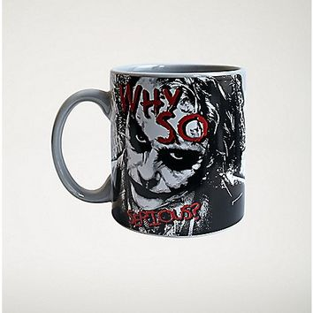 Why So Serious? Joker Mug - Spencer's