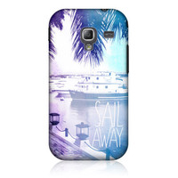 HEAD CASE SAIL AWAY POSITIVE VIBE DESIGN CASE FOR SAMSUNG GALAXY ACE 2 I8160