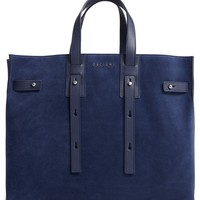 Orciani Petra Suede & Leather Tote | Nordstrom