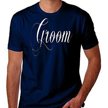 Groom Wedding Bachelor Party Funny Novelty Parody T-Shirt Top Tee 100% Cotton Humor Men Crewneck T Shirts Loose Plus Size