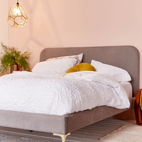 Agnes Upholstered Bed | Urban Outfitters