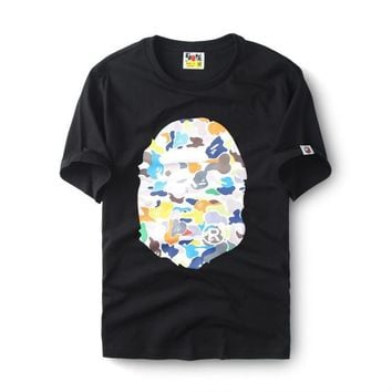 Print Bape Cotton Multi-color Short Sleeve High Quality T-shirts [211468189708]