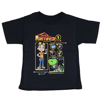 Rusty Rivets Little Boys' Modified Customized Rustified Graphic T-Shirt Tee