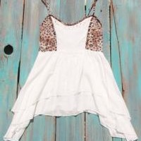 Leopard High Low Cowgirl Top | Elusive Cowgirl